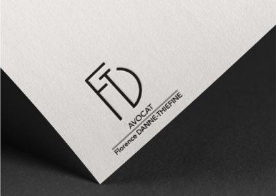 FDT Avocat : Logo et charte graphique