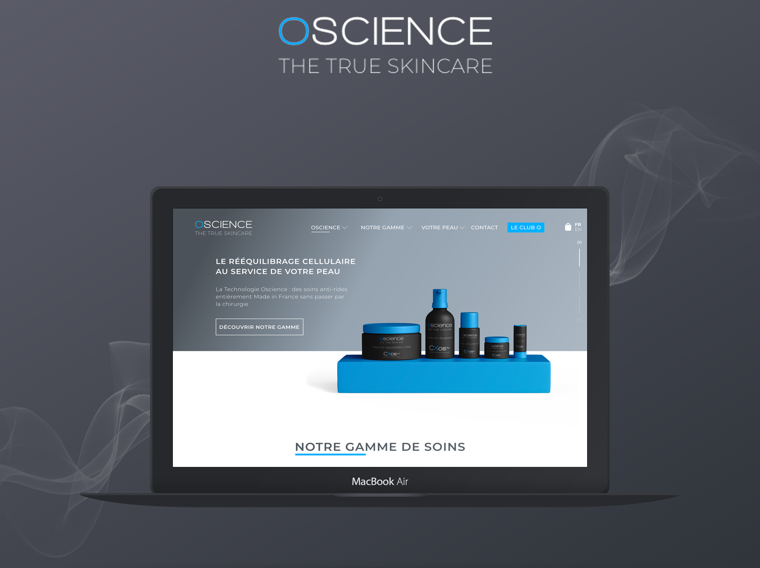 Projet marketing digital e-commerce Oscience