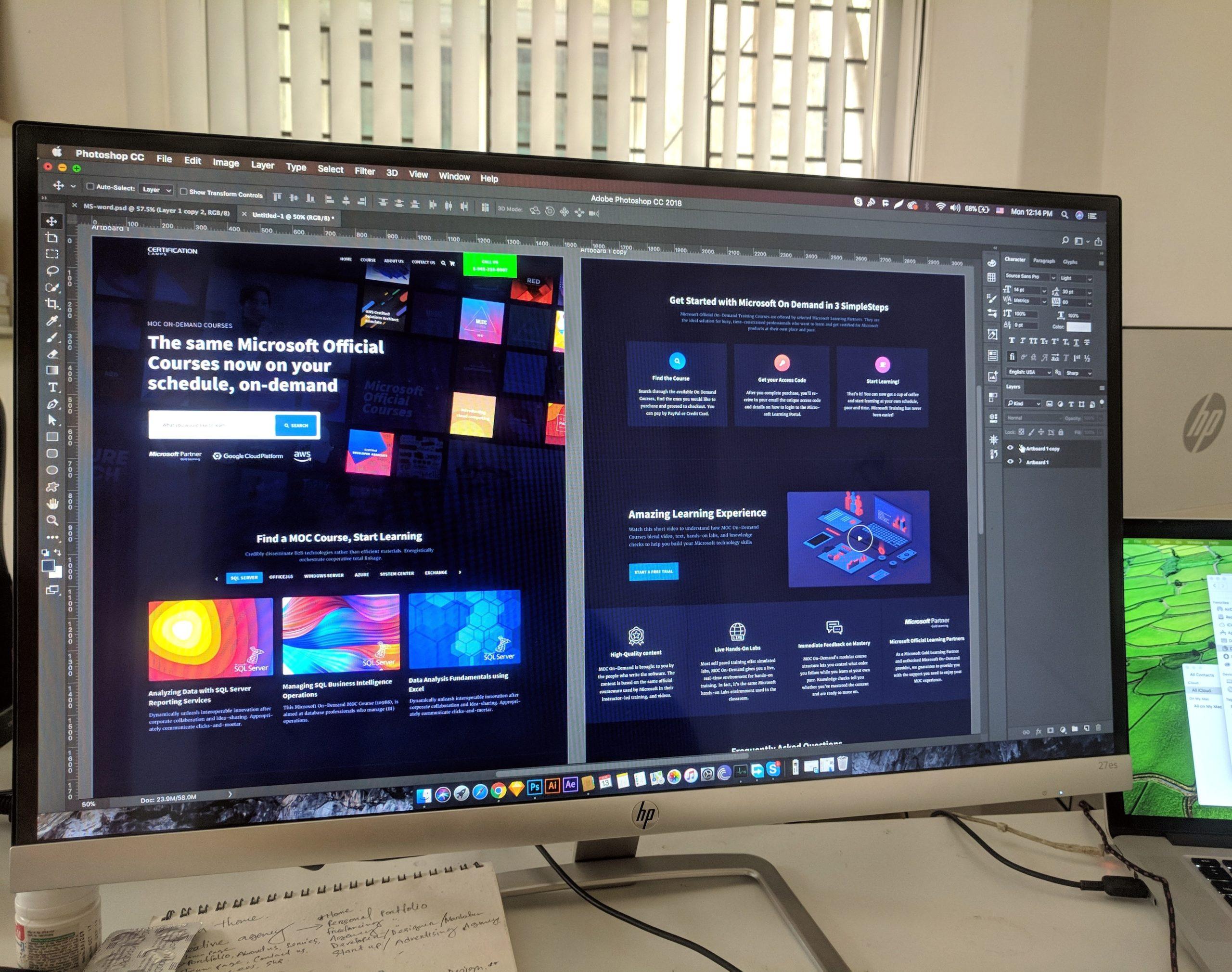 Freelance optimisation UX/UI design web